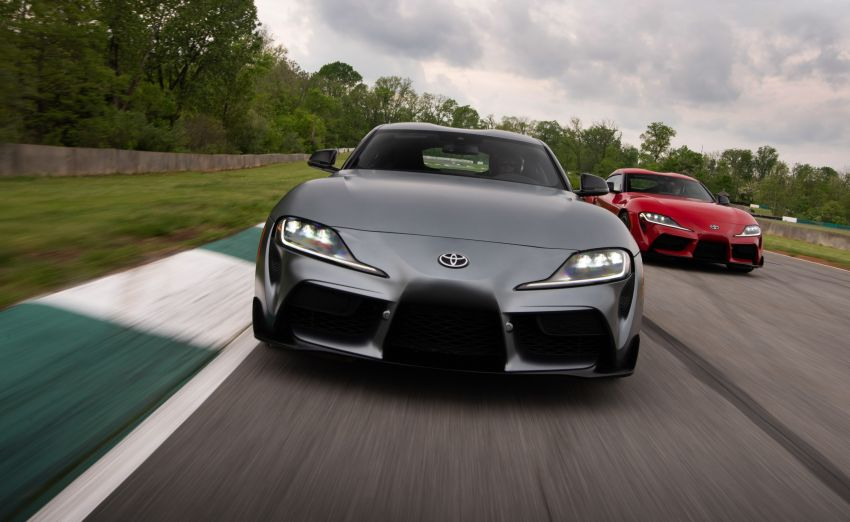 GALLERY: A90 Toyota GR Supra launched in the US Image #958939
