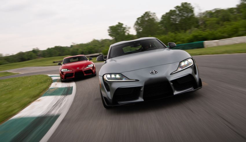 GALLERY: A90 Toyota GR Supra launched in the US Image #958940