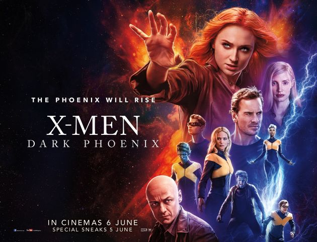 Image result for x-men dark phoenix poster