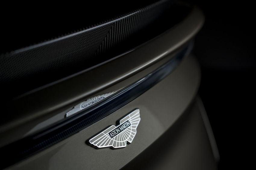 Aston Martin DBS Superleggera is now On Her Majesty's Secret Service – 50-unit 007 limited edition Image #962379