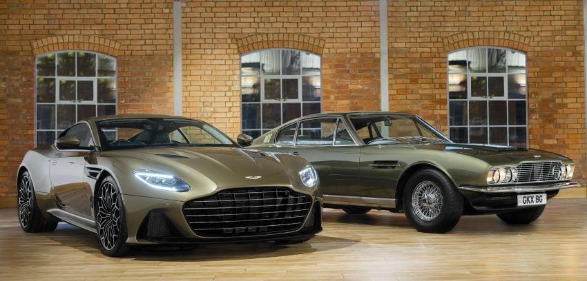 Aston Martin DBS Superleggera is now On Her Majesty's Secret Service – 50-unit 007 limited edition Image #962383