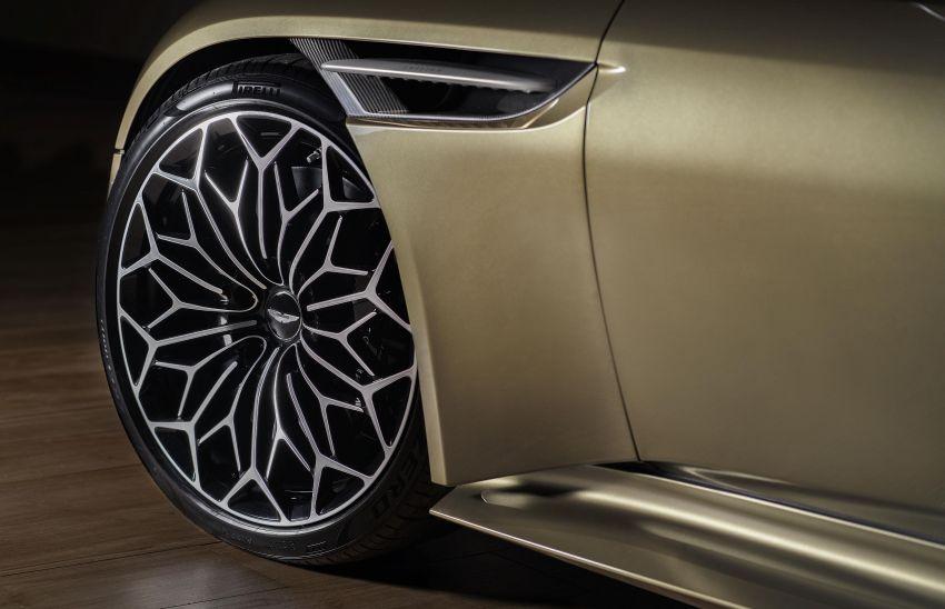 Aston Martin DBS Superleggera is now On Her Majesty's Secret Service – 50-unit 007 limited edition Image #962372