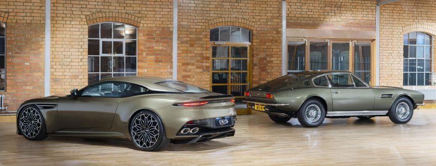 Aston Martin DBS Superleggera is now On Her Majesty's Secret Service – 50-unit 007 limited edition Image #962375
