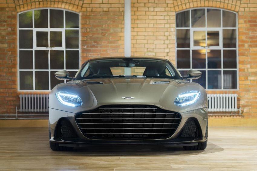 Aston Martin DBS Superleggera is now On Her Majesty's Secret Service – 50-unit 007 limited edition Image #962376