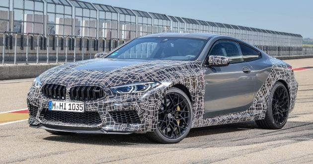 Bmw M8 Coupe And Convertible Will Debut New Display And Control