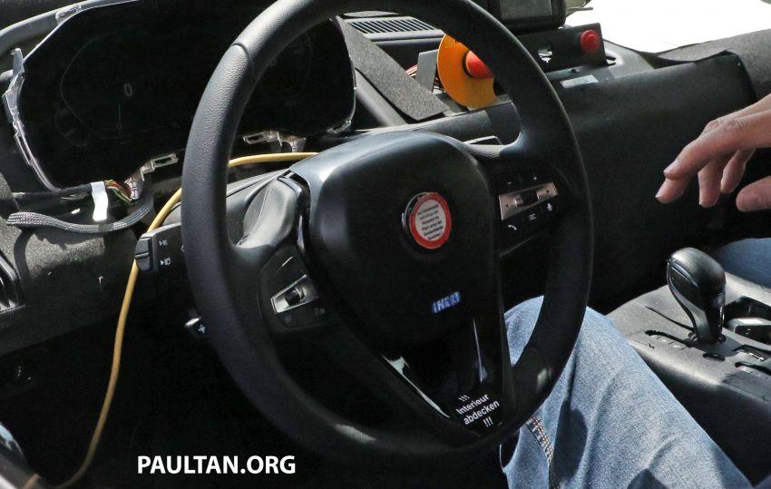 SPYSHOTS: BMW iNEXT spotted – interior revealed Image #958901