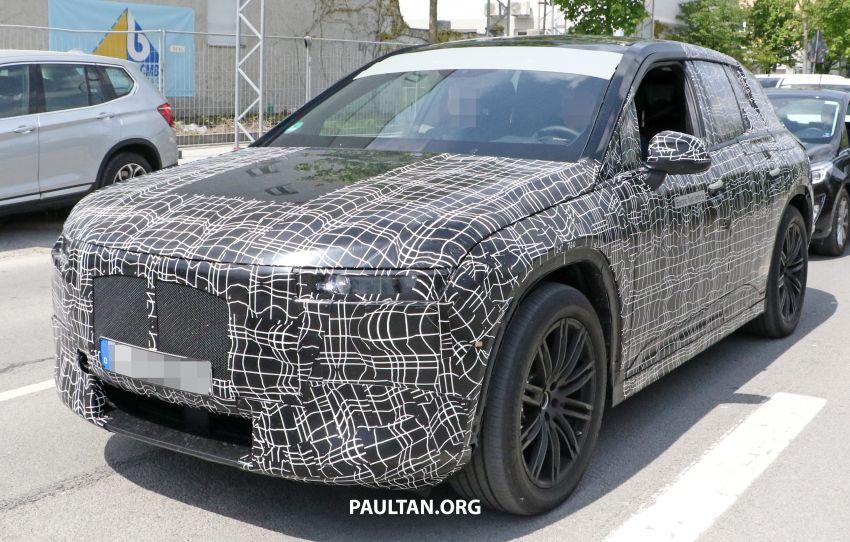 SPYSHOTS: BMW iNEXT spotted – interior revealed Image #958891