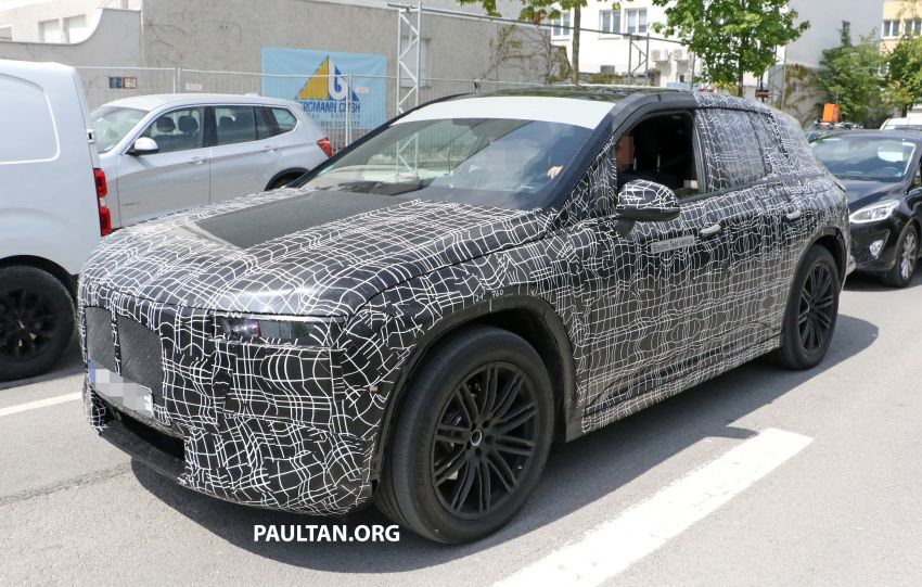 SPYSHOTS: BMW iNEXT spotted – interior revealed Image #958893