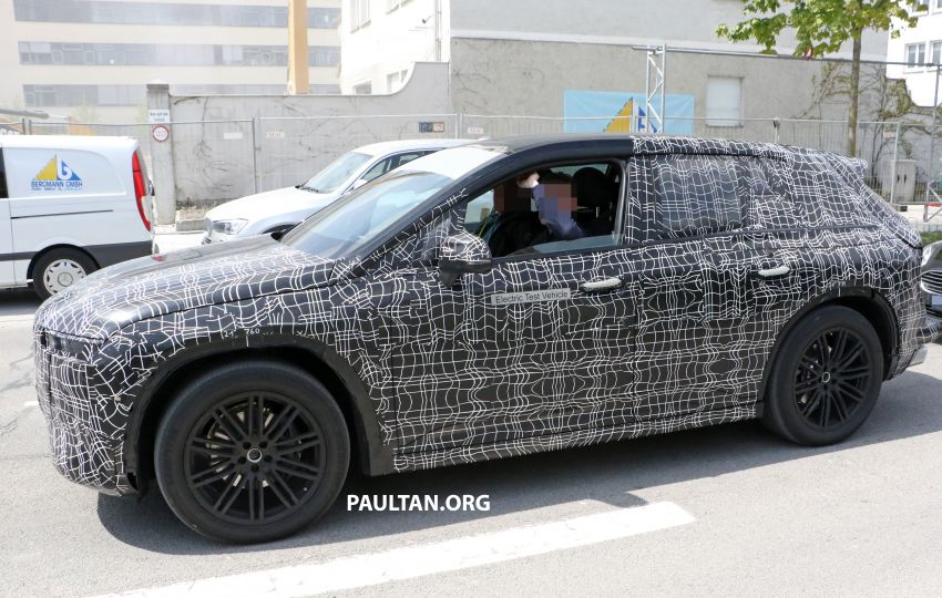 SPYSHOTS: BMW iNEXT spotted – interior revealed Image #958894