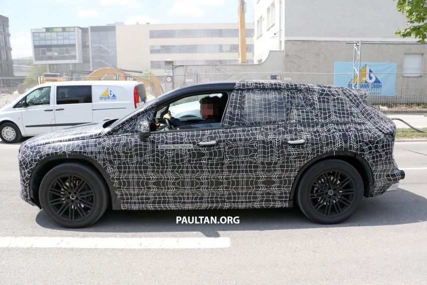 SPYSHOTS: BMW iNEXT spotted – interior revealed Image #958896