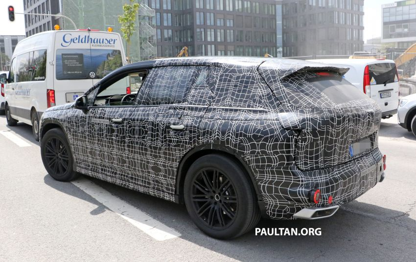 SPYSHOTS: BMW iNEXT spotted – interior revealed Image #958898