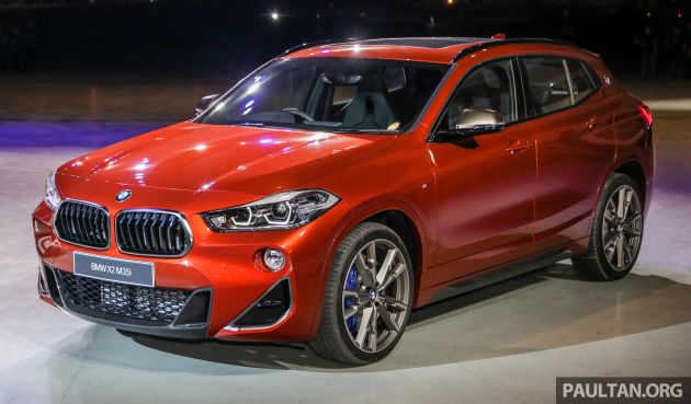Bmw X2 M35i Shown In Malaysia July Launch Rm400k