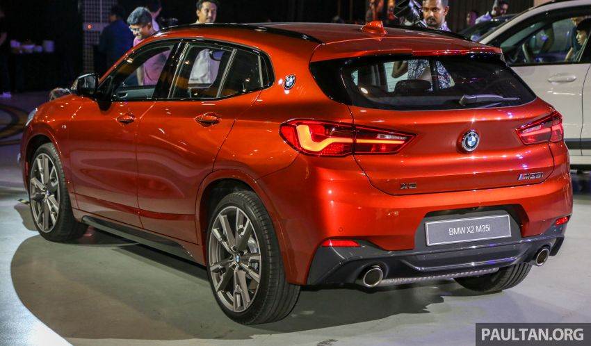 BMW X2 M35i shown in Malaysia; July launch, RM400k Image #965917
