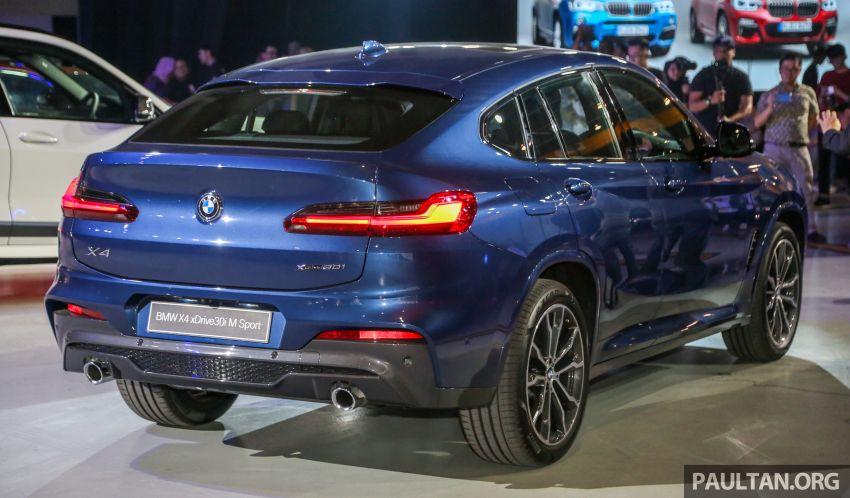 BMW X4 G02 xDrive30i M Sport diperkenal – RM380k Image #965686