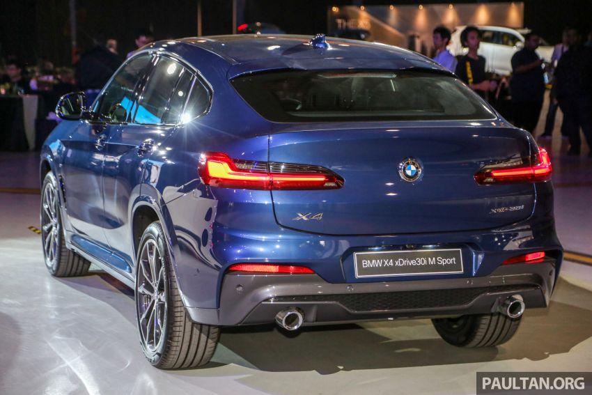 BMW X4 G02 xDrive30i M Sport diperkenal – RM380k Image #965690