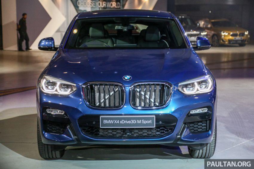 BMW X4 G02 xDrive30i M Sport diperkenal – RM380k Image #965692