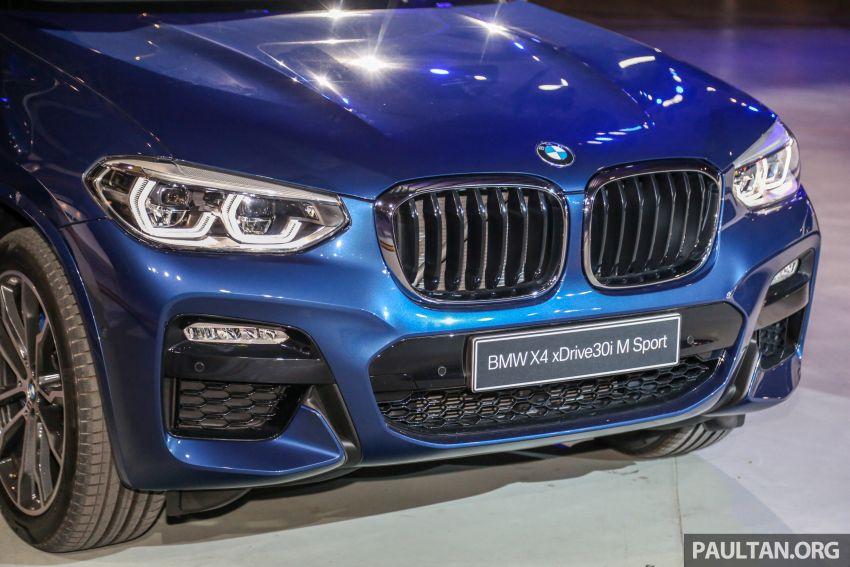 BMW X4 G02 xDrive30i M Sport diperkenal – RM380k Image #965702