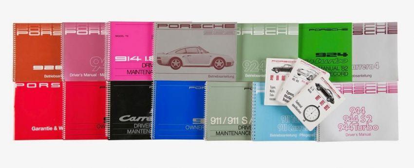 Porsche reprints driver's manuals – 356 to 996-gen 911 Image #957376