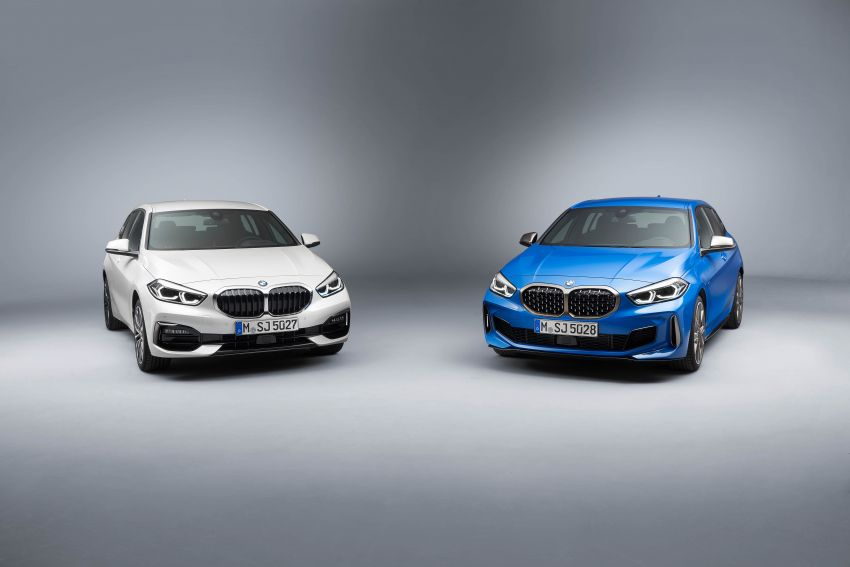 F40 BMW 1 Series makes its debut – third-gen is now front-wheel drive, gets range-topping M135i xDrive Image #963444