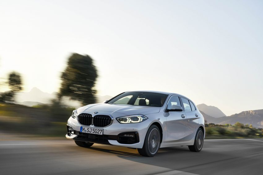 F40 BMW 1 Series makes its debut – third-gen is now front-wheel drive, gets range-topping M135i xDrive Image #963522