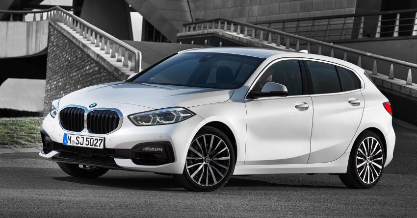 F40 BMW 1 Series makes its debut – third-gen is now front-wheel drive, gets range-topping M135i xDrive Image #963524