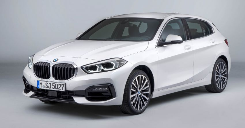 F40 BMW 1 Series makes its debut – third-gen is now front-wheel drive, gets range-topping M135i xDrive Image #963545
