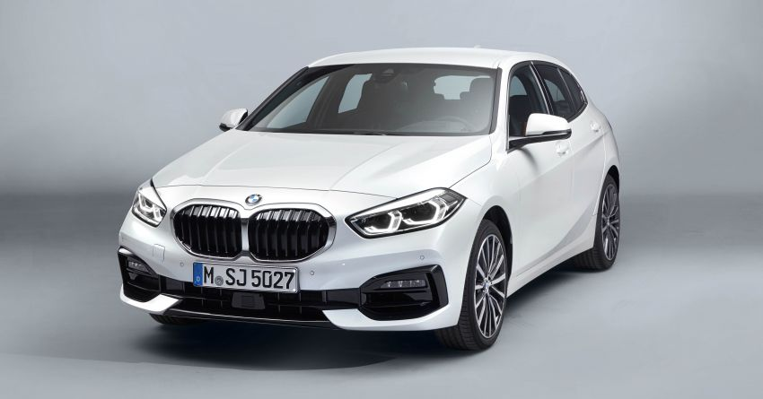 F40 BMW 1 Series makes its debut – third-gen is now front-wheel drive, gets range-topping M135i xDrive Image #963546
