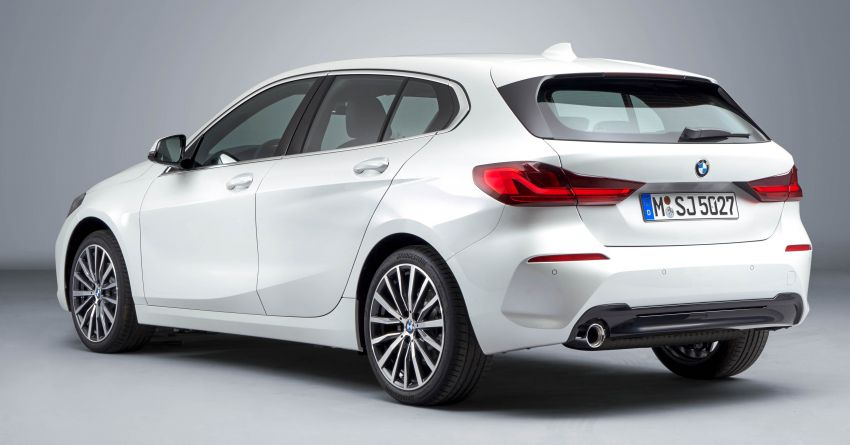 F40 BMW 1 Series makes its debut – third-gen is now front-wheel drive, gets range-topping M135i xDrive Image #963547