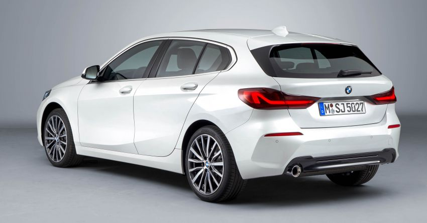 F40 BMW 1 Series makes its debut – third-gen is now front-wheel drive, gets range-topping M135i xDrive Image #963548