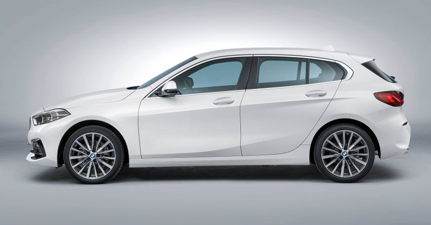 F40 BMW 1 Series makes its debut – third-gen is now front-wheel drive, gets range-topping M135i xDrive Image #963551