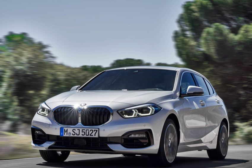 F40 BMW 1 Series makes its debut – third-gen is now front-wheel drive, gets range-topping M135i xDrive Image #963497