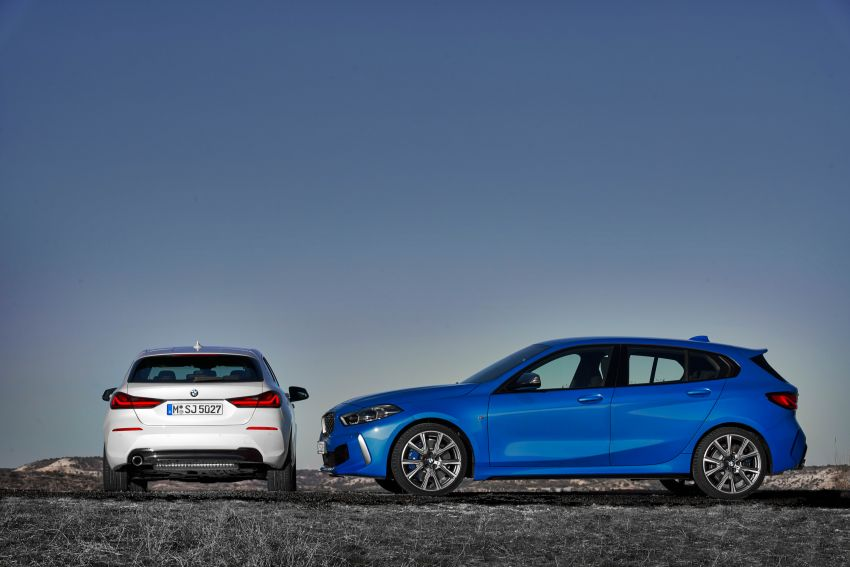 F40 BMW 1 Series makes its debut – third-gen is now front-wheel drive, gets range-topping M135i xDrive Image #963445