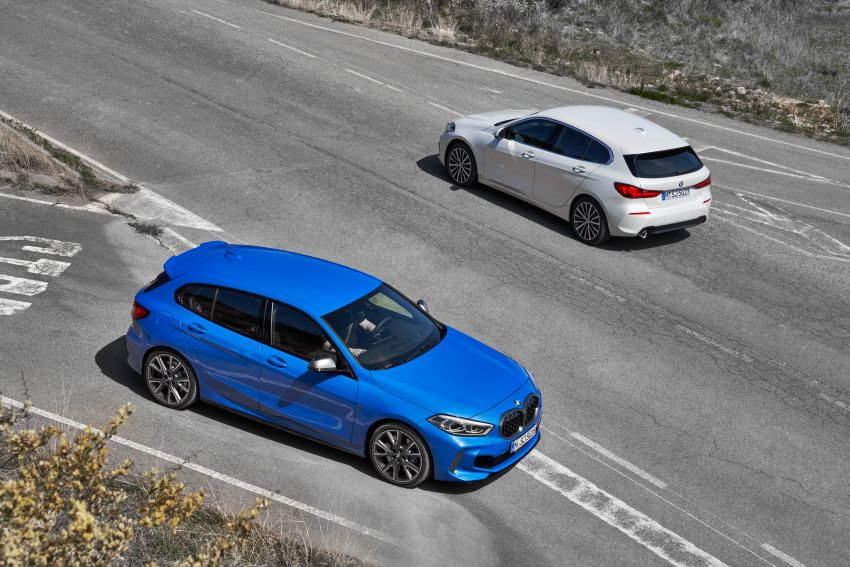 F40 BMW 1 Series makes its debut – third-gen is now front-wheel drive, gets range-topping M135i xDrive Image #963448
