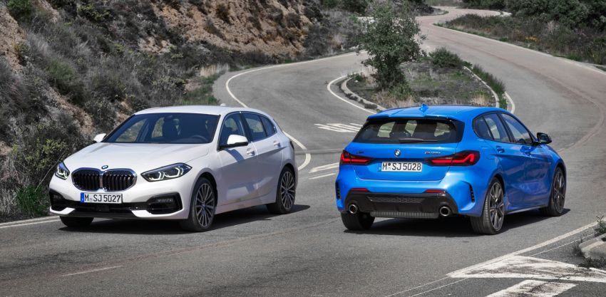 F40 BMW 1 Series makes its debut – third-gen is now front-wheel drive, gets range-topping M135i xDrive Image #963449