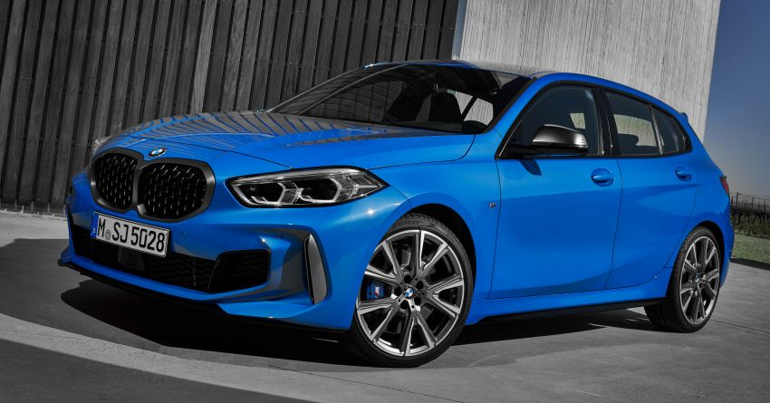 F40 BMW 1 Series makes its debut – third-gen is now front-wheel drive, gets range-topping M135i xDrive Image #963565