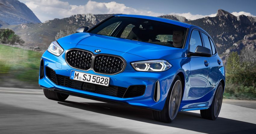 F40 BMW 1 Series makes its debut – third-gen is now front-wheel drive, gets range-topping M135i xDrive Image #963580
