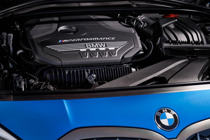 F40 BMW 1 Series makes its debut – third-gen is now front-wheel drive, gets range-topping M135i xDrive Image #963588
