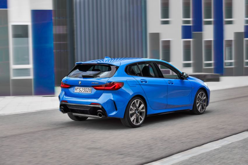 F40 BMW 1 Series makes its debut – third-gen is now front-wheel drive, gets range-topping M135i xDrive Image #963590