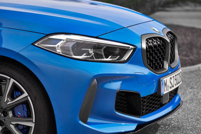 F40 BMW 1 Series makes its debut – third-gen is now front-wheel drive, gets range-topping M135i xDrive Image #963603