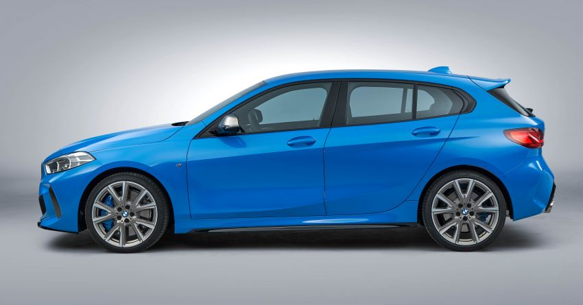 F40 BMW 1 Series makes its debut – third-gen is now front-wheel drive, gets range-topping M135i xDrive Image #963620