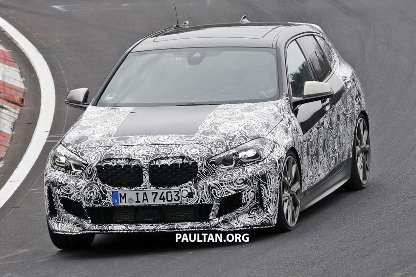 SPYSHOTS: F40 BMW 1 Series caught, interior seen Image #956665