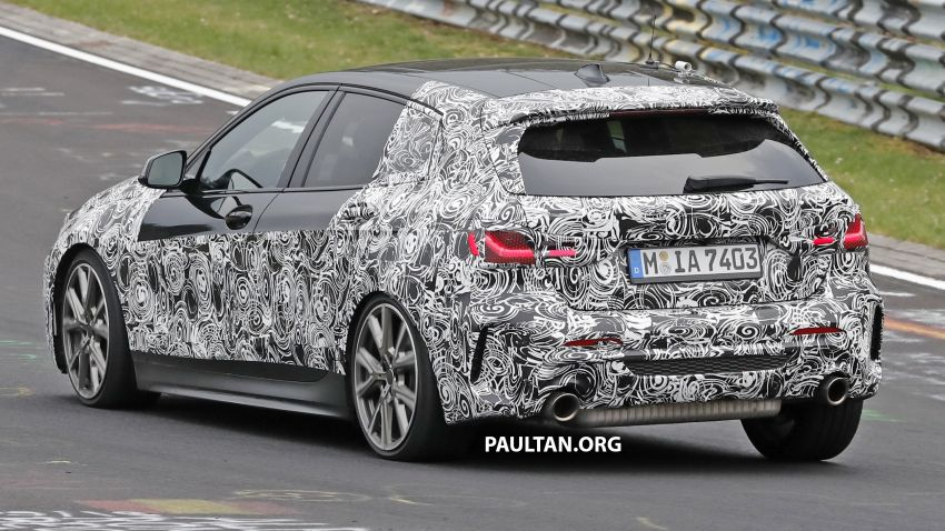 SPYSHOTS: F40 BMW 1 Series caught, interior seen Image #956672