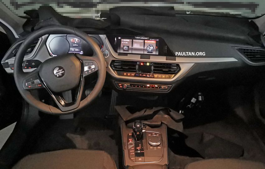SPYSHOTS: F40 BMW 1 Series caught, interior seen Image #956658