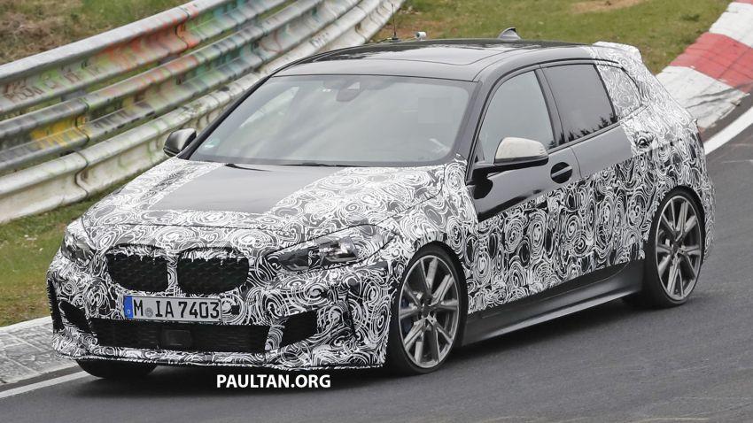 SPYSHOTS: F40 BMW 1 Series caught, interior seen Image #956666