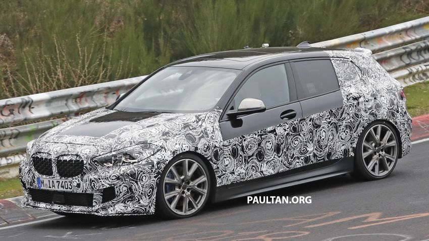 SPYSHOTS: F40 BMW 1 Series caught, interior seen Image #956667