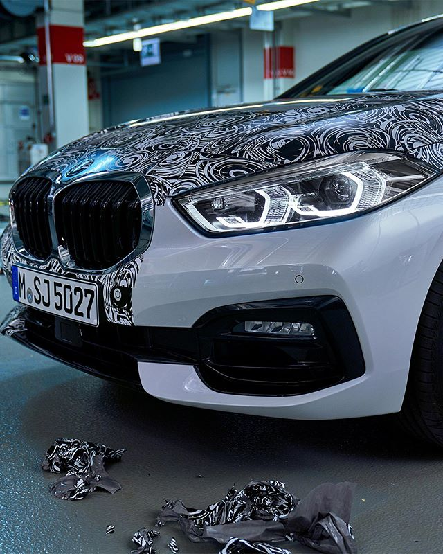 F40 BMW 1 Series begins stripping – will debut soon Image #960615