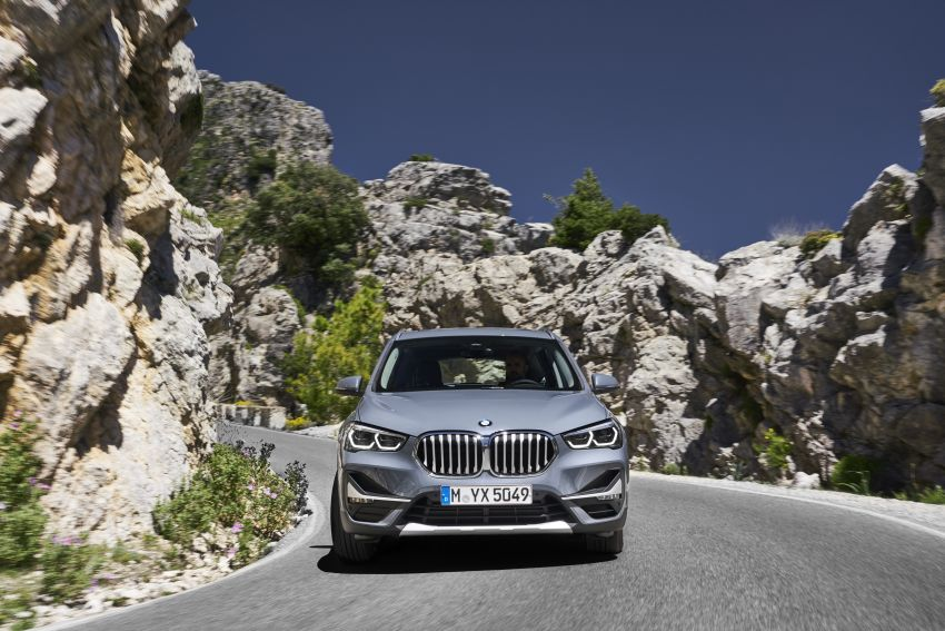 F48 BMW X1 LCI – new looks, xDrive25e plug-in hybrid Image #965231