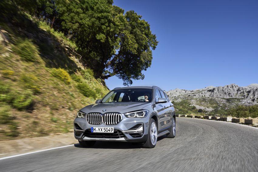 F48 BMW X1 LCI – new looks, xDrive25e plug-in hybrid Image #965235