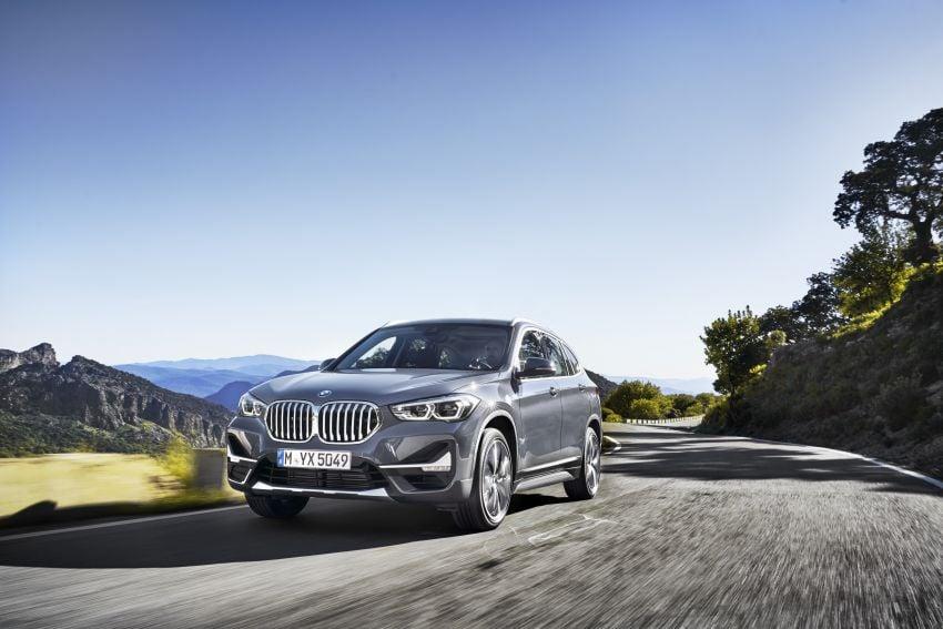 F48 BMW X1 LCI – new looks, xDrive25e plug-in hybrid Image #965240