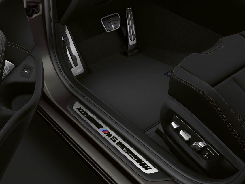 BMW M5 F90 Edisi 35 Tahun – terhad hanya 350 unit Image #960893